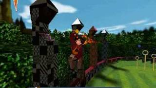 Harry Potter and the Sorcer's Stone game PC Quidditch League
