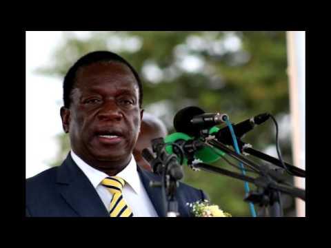 VP Mnangagwa in Manicaland