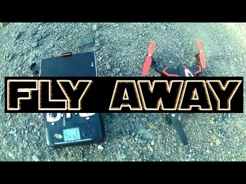 SYMA X56W FLY AWAY SMH BYE BYE Do Not Fly This High
