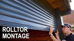 Garagen Rolltor selber einbauen. Schritt für Schritt für Anfänger