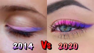 Макияж 2014 vs 2020 УЧУ КРАСИТЬСЯ САМУ СЕБЯ Стрелки ОМБРЕ