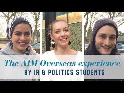 AIM Overseas by International Relations & Politics Students   AIM Overseas