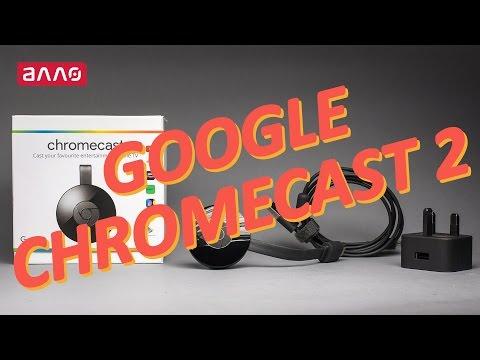 Видео-обзор HD-медиаплеера Google Chromecast (2nd generation)