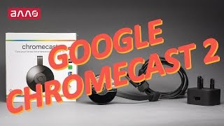 Видео-обзор HD-медиаплеера Google Chromecast (2nd generation)