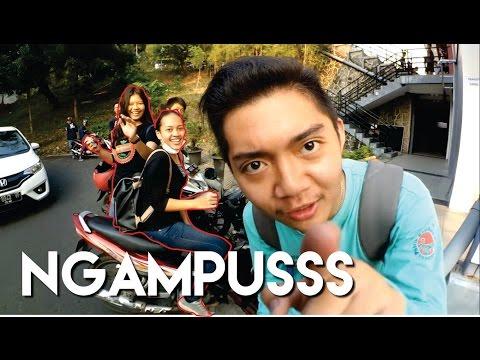 Pulang Ngampusss dikrubungin nag hits :D FAIL| Daily Riding Motovlogger Semarang