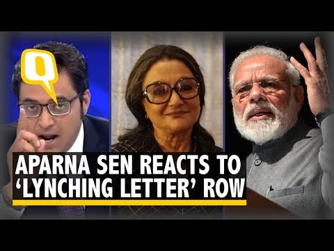 Aparna Sen on Arnab's Screaming: He Wants to Deflect Attention From Mob Lynchings | The Quint