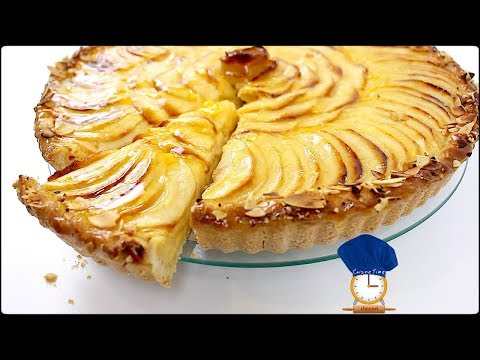 tarte-aux-pommes-creme-patissiere-/-french-apple-tarte-with-custard-cream-(caption)-/-cuisine-time