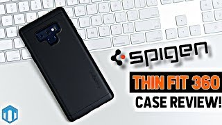 Samsung Galaxy Note 9 Spigen Thin Fit 360 Case Review!