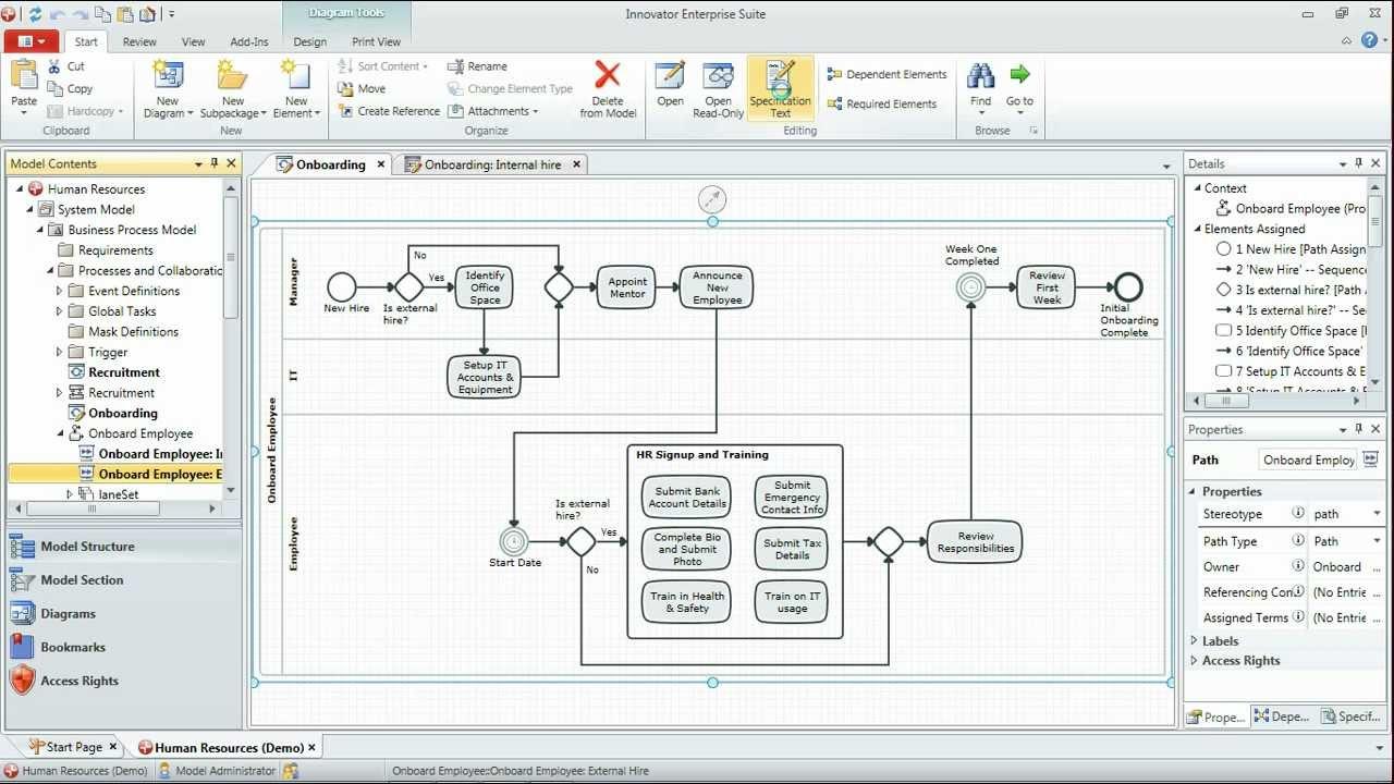 bpmn tutorial part 3 animating scenarios in bpmn processes youtube - Bpmn 12