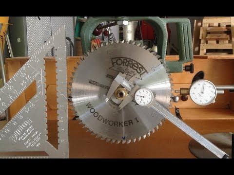 Radial Arm Saw Alignment/Calibration
