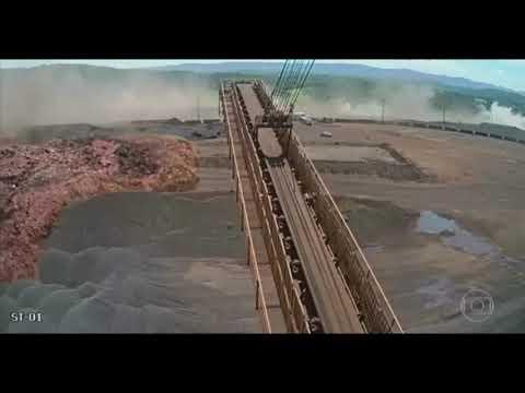 Câmeras registram o momento exato do rompimento da barragem de Brumadinho, MG