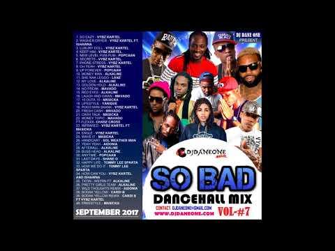 New Dancehall mix ( March  2018 ) Feat, Vybz kartel, Mavado, Alkaline, Mixed By Dj Dane One