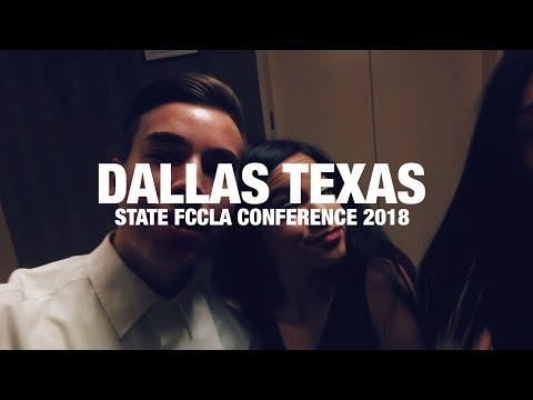 DALLAS, TX! FCCLA STATE CONFERENCE 2018
