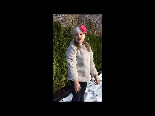 Изображение предпросмотра прочтения – АринаГоршкова читает произведение «Весна (Зима не даром злится…)» Ф.И.Тютчева