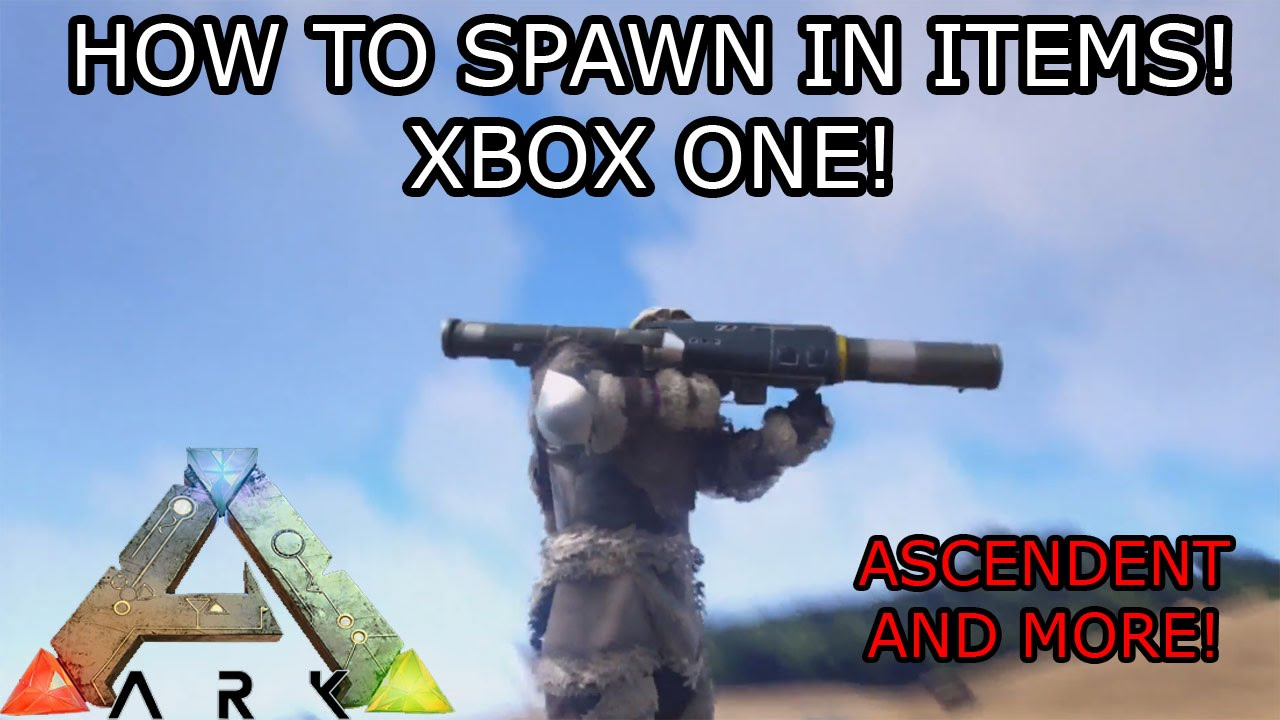 Ark survival evolved how to spawn in any item ascendent ark survival evolved how to spawn in any item ascendent console commands xbox oneps4 youtube malvernweather Gallery