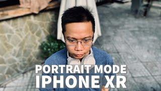 Portrait trên iPhone XR