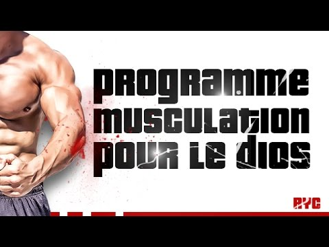 PROGRAMME DE MUSCULATION - DOS - Rudy Coia / Geo