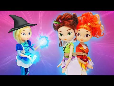 Сказка для девочек - Снежка стала плохой? Куклы Сказочный патруль и Машины истории на ночь