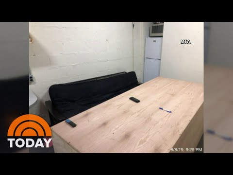 Secret 'Man Cave' Found In Grand Central Station | TODAY