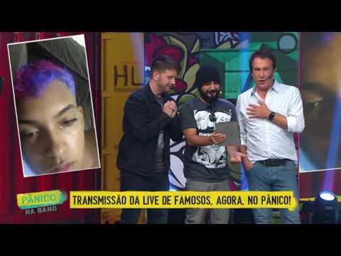 AO VIVO: PÂNICO INVADE INSTAGRAM LIVE DE MC BRINQUEDO #CheiraOSuvaco
