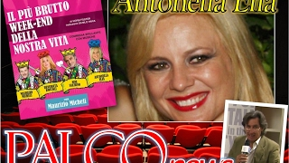 Palco.News 20/01/2017. Antonella Elia