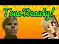 Using a Minecraft girl skin?! | Minecraft PE episode 2
