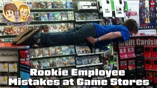 Rookie Employee Mistakes at Game Stores - #CUPodcast