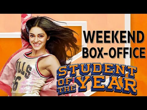 Student Of The Year 2 Weekend Box-Office   Ananya PandeyTiger Shroff Tara Sutaria   Karan Johar