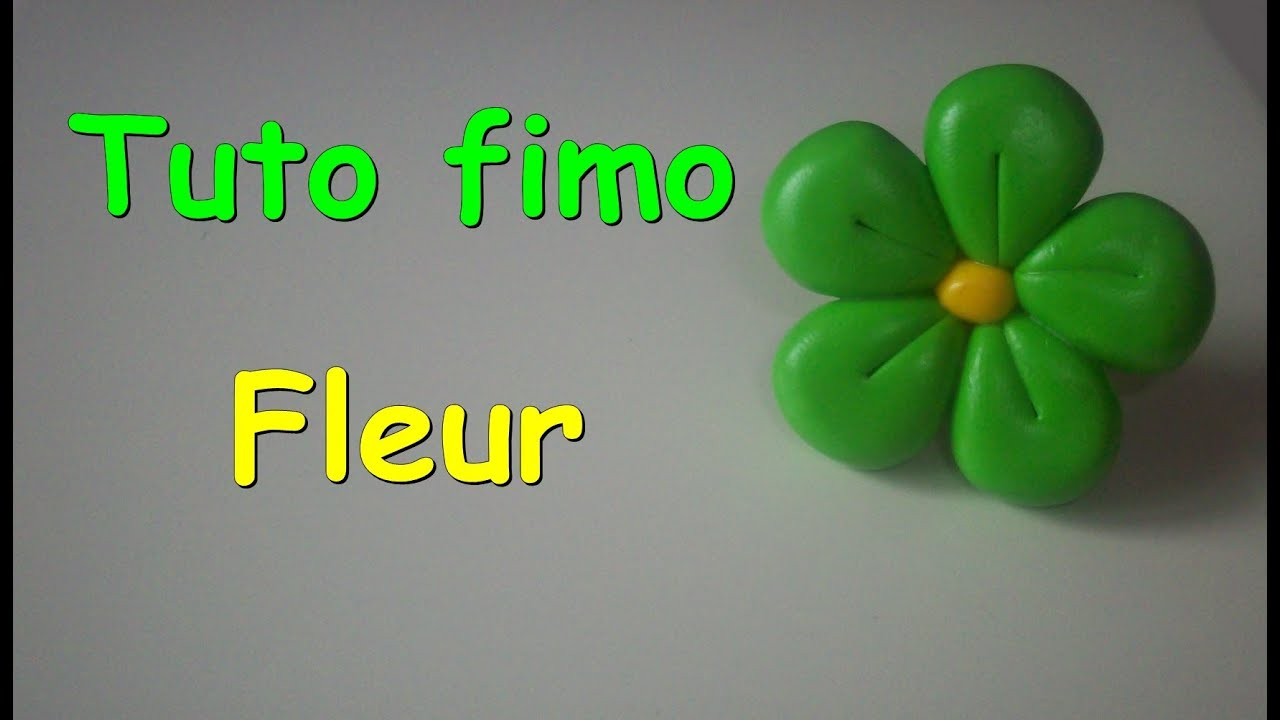 tuto fimo fleur facile. Black Bedroom Furniture Sets. Home Design Ideas