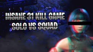 OPscT - 31 KILL SOLO VS SQUAD GAME | Fortnite