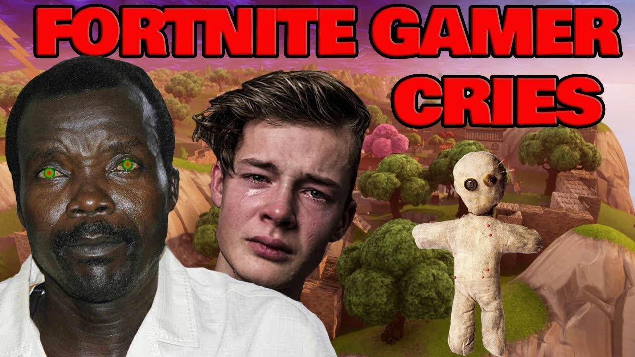 african rebel kony horrifies fortnite gamer and makes him cry