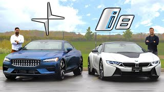 2021 Polestar 1 vs BMW i8 // The Strangest Way To Spend $150,000