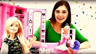 Барби и машина времени. Видео для девочек про куклы