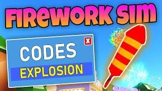 ALLE NEUEN FIREWORK SIMULATOR CODES - Roblox Codes