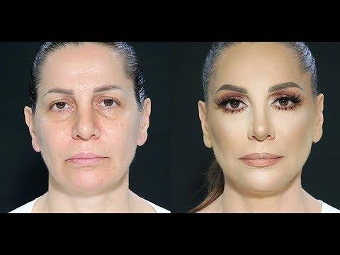 Mature women makeup tutorial by Samer Khouzami