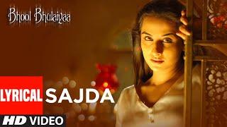 Lyrical: Sajda   Bhool Bhulaiyaa   Shiney Ahuja, Vidya Balan, Akshay Kumar   K.K.   Pritam