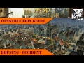 Anno 1404 - Construction Guide: Housing