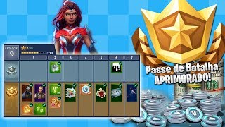 SUPER HEROES IN THE BATTLE PASS 4? (New skins) FORTNITE ‹ Ravanha ›