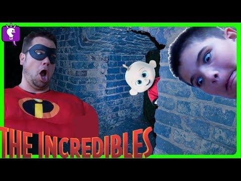 Secret TUNNEL In HobbyKids House! Jack Jack Incredibles Adventure Part 2