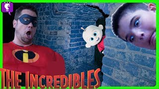 Secret TUNNEL in HobbyKids House! Jack Jack Incredibles Adventure Part 2