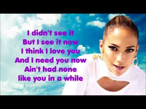 I Luh Ya Papi ♥ Jennifer Lopez ♥ Lyrics [HD]