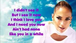 Repeat youtube video I Luh Ya Papi ♥ Jennifer Lopez ♥ Lyrics [HD]