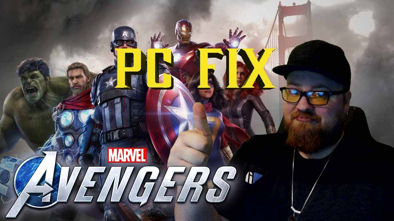 Download Marvel's Avengers PC Crashing issue fix