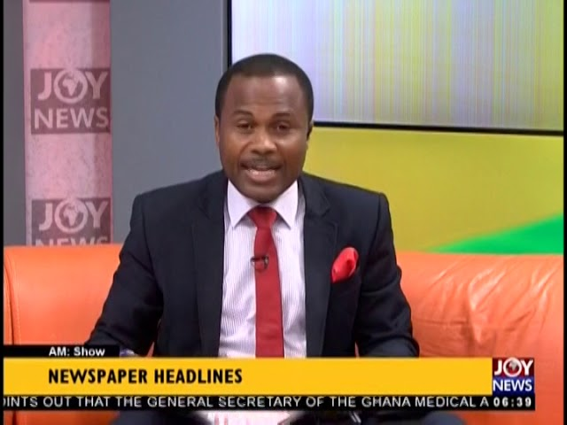EOCO Retrieves GHS 51 Million - AM Show Headlines on JoyNews (13-12-18)