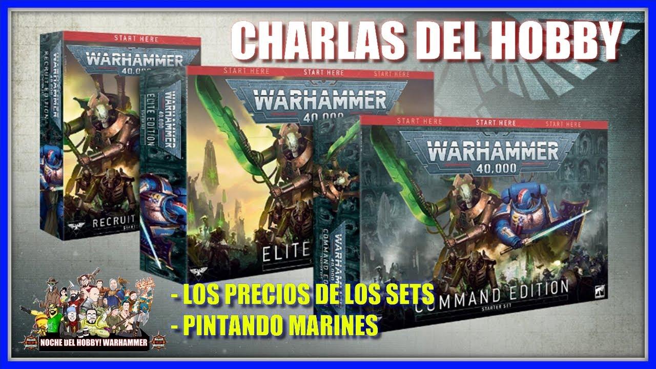 Dentro de los Sets de Inicio de Warhammer 40000 - Charlas del Hobby