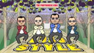 Luso Style - Official Portuguese Kids Hd (gangnam Style Parody)