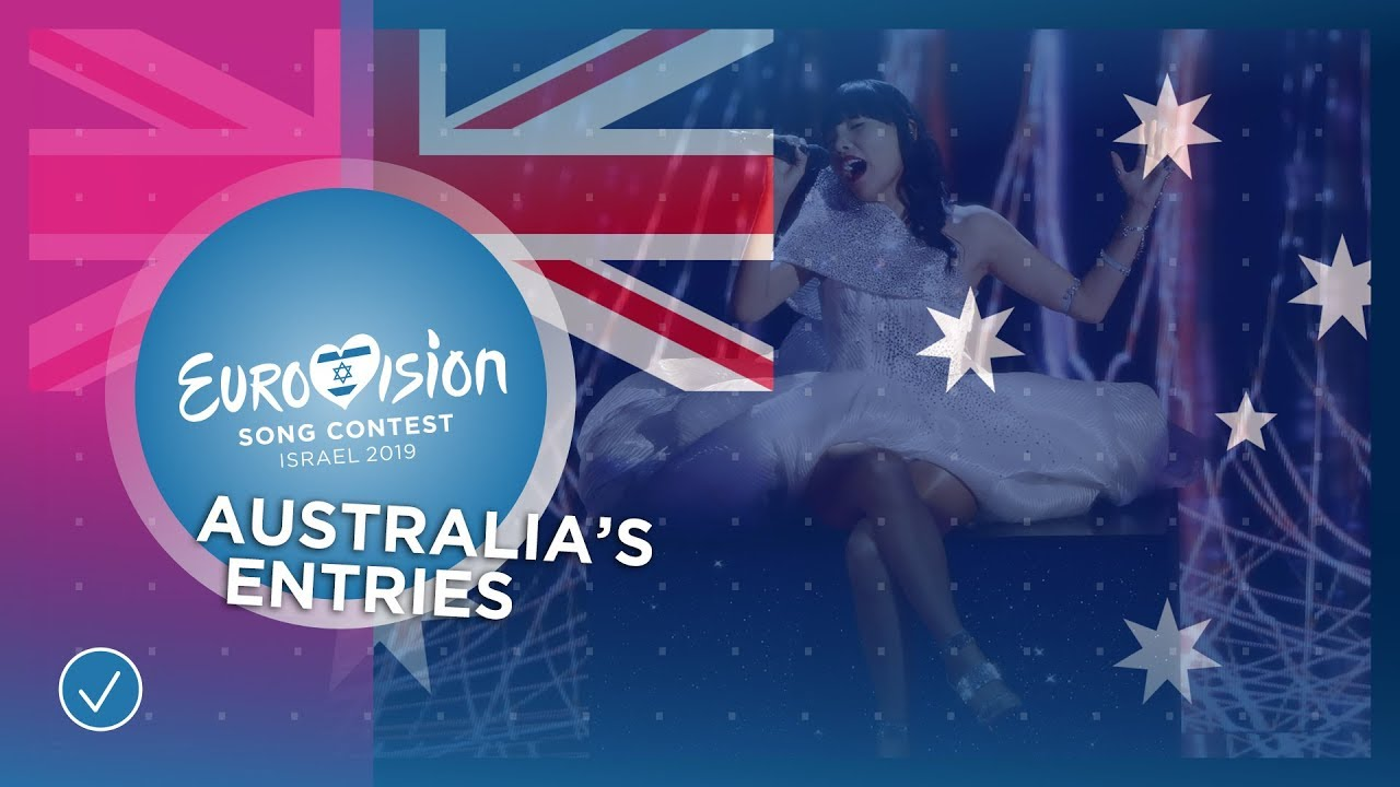 Australia's entries at the Eurovision Song Contest
