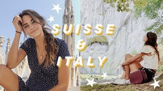 Gambar cover Solo Backpacking in Switzerland and Italy | Lucerne & Lugano & Milan