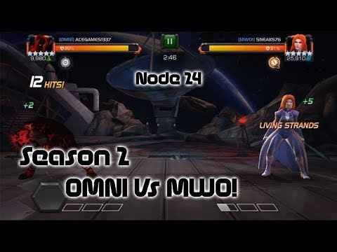 [AW] OMNI vs MWO! Cleanest Medusa take down on 24 - Marvel Contest of Champions