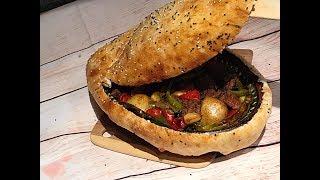 Meat and vegetable hotpot (Guvéc) فخارة اللحم التركية بالعجين -وصفات العيد